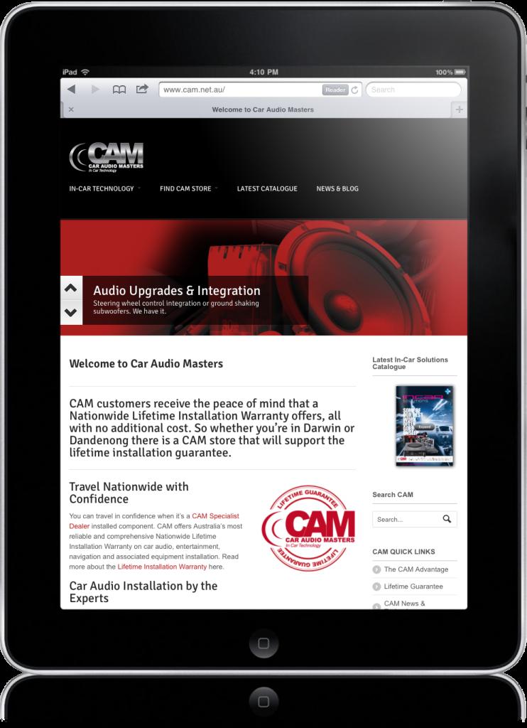 ipad-cam-web-site-design