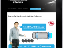 Website Design – Phillips Auto Sound