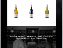 Sinapius Wine – E-commerce