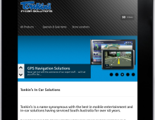 Website Design – Tonkin's