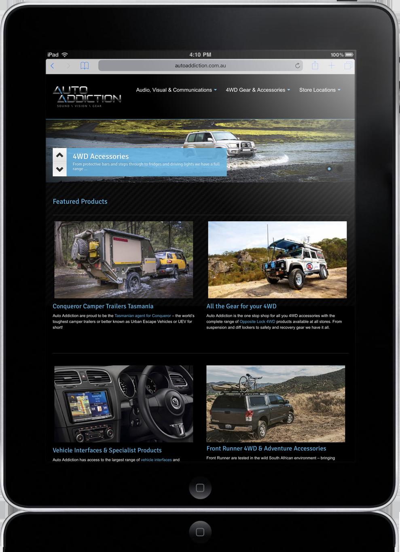 web-advanced website package tasmania