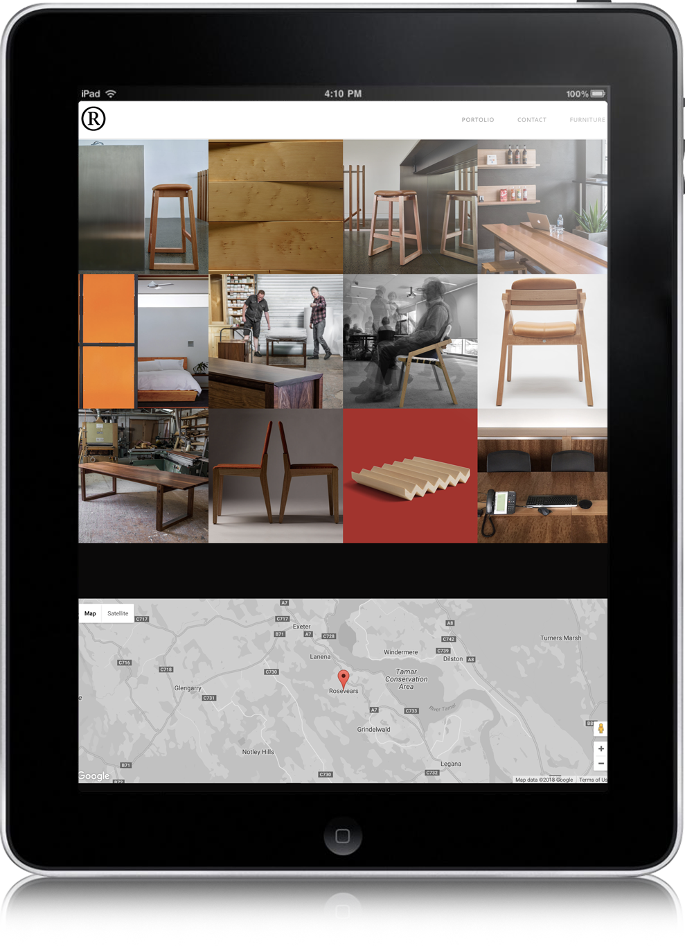 website design for rye dunsmuir furniture tasmania